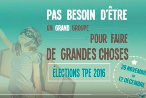 Salariés des Très petites entreprises (TPE) : Votez CFE-CGC du 28 nov au 12 décembre !