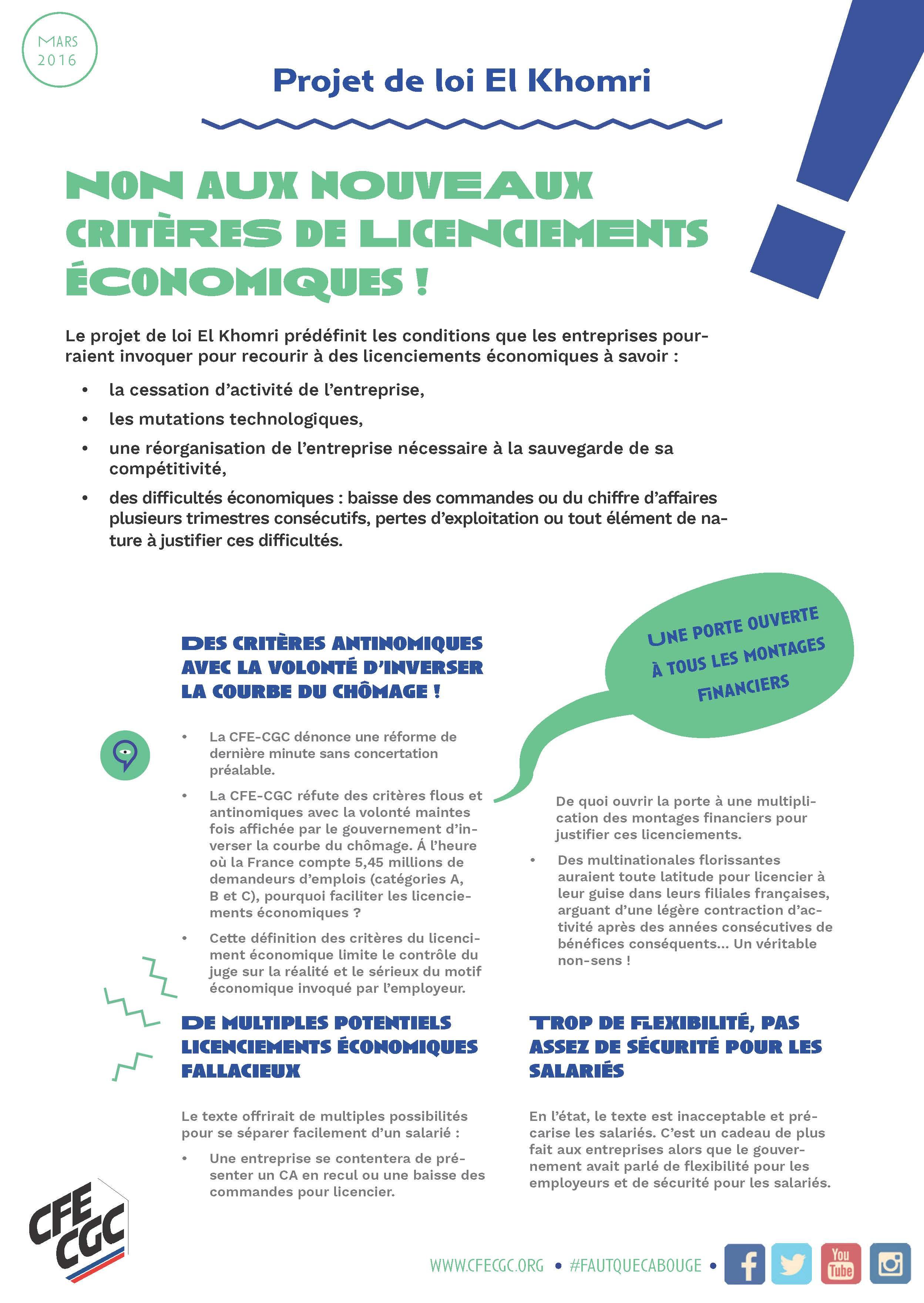 3. TRACT - NON AUX NOUVEAUX CRITERES DE LICENCIEMENT ECONOMIQUE