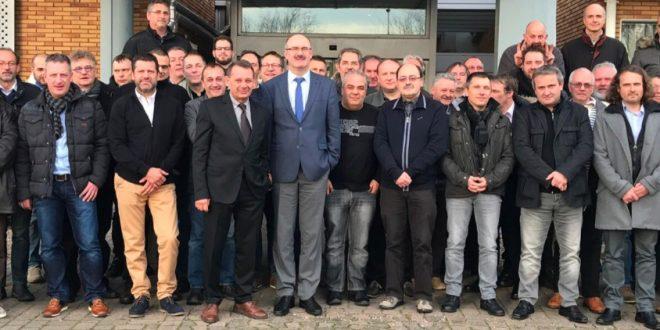 Nos Délégués Syndicaux en 2017