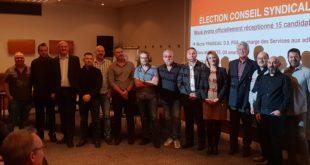 Notre Conseil Syndical 2018 - 2022 élu le 24 octobre 2018